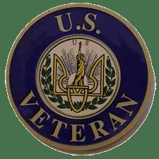 U.S. Veteran gravestone marker
