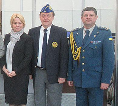 Ukrainian Military Air Attache Volodymyr Humeniuk
