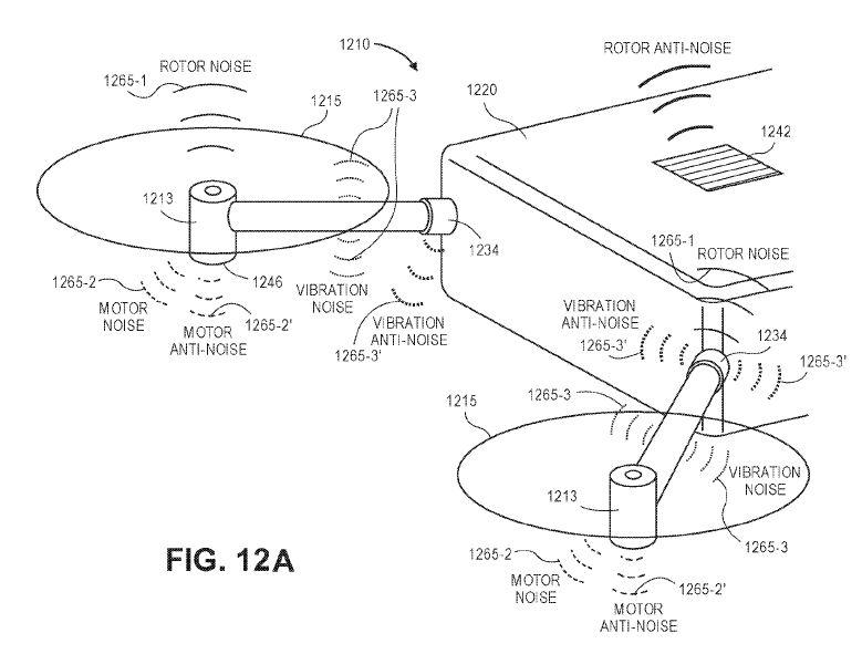 Amazon Quells Drone Noise with Anti-Noise – UAV Patent Blog