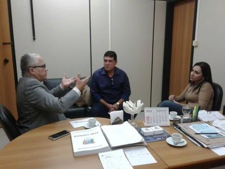 Prefeita participa de audiência com Josias Gomes (Foto: Divulgação)