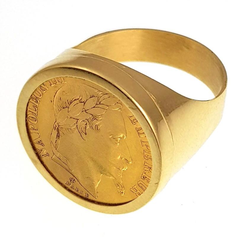 chevaliere napoleon bague chevaliere napoleon en or