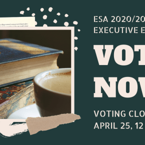 VOTE NOW IN ESA'S 2020/2021 EXECUTIVE TEAM ELECTIONS!