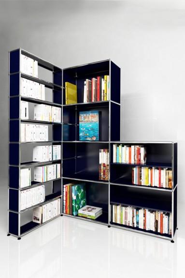 usm haller meuble d angle solutions bibliotheques home n 06 usm haller 171 x 113 x h207 cm