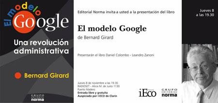 El Modelo Google Bernard Girard