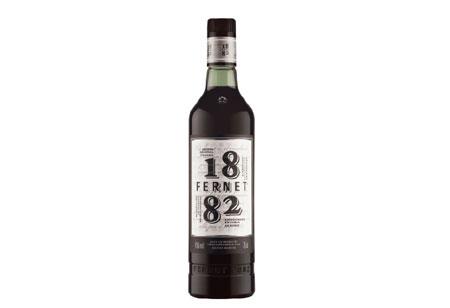 Botella de Fernet diseñada por Fontanadiseño