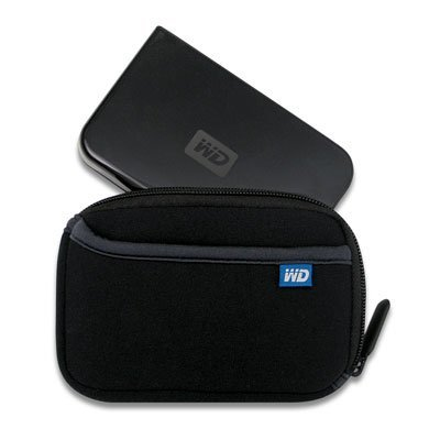 WD Passport 250GB con la funda