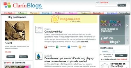 Clarin Blogs: Los blogs de clarin.com