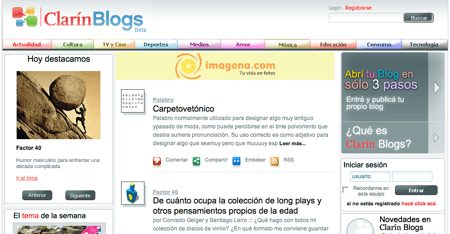 Clarin Blogs: Los blogs de clarin.com
