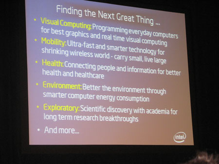 tendencias en intel labs
