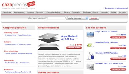 Cazaprecios.com.ar Comparador de precios