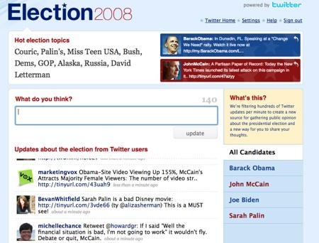 twitter-elecciones Twitter Election 2008 ¿una muestra de modelo de negocios?
