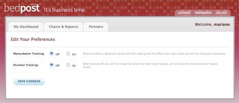 bedpost-4 Bedpost es tu vida sexual en una planilla de Excel 2.0