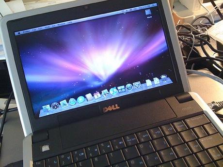 inspiron-osx Dell Inspiron Mini 9 con OS X Leopard