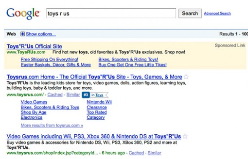 google-ad-sitelinks