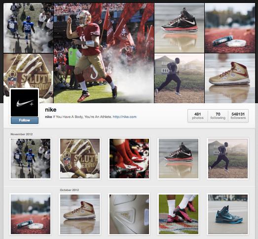perfiles de instagram nike