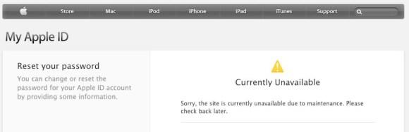 Apple ID reset bloqueado