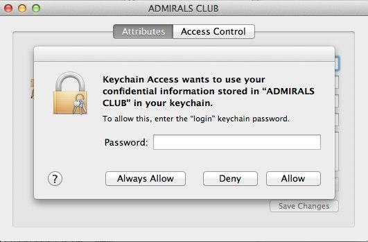 Apple SecurityAgent