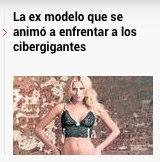 María Belén Rodríguez La confusión por la modelo que enfrentó a Google
