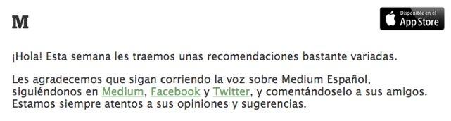 Las historias que buscabas ahora están en Medium Español