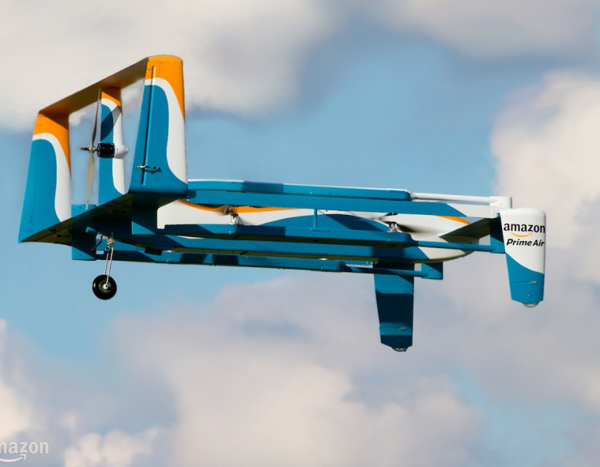 amazon prime air prototipo