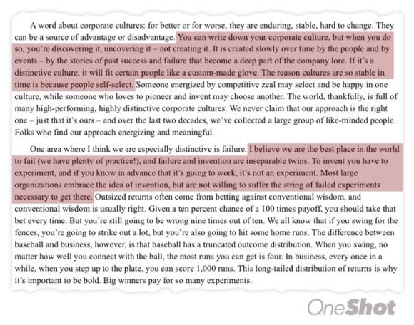 amazon y la cultura corporativa