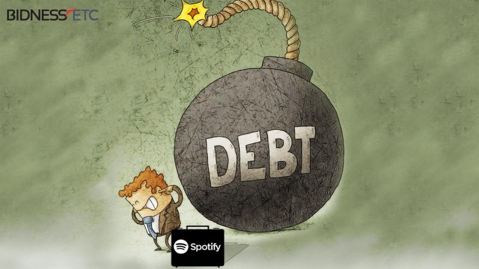 Spotify y su ronda de u$s1.000 millones en deuda