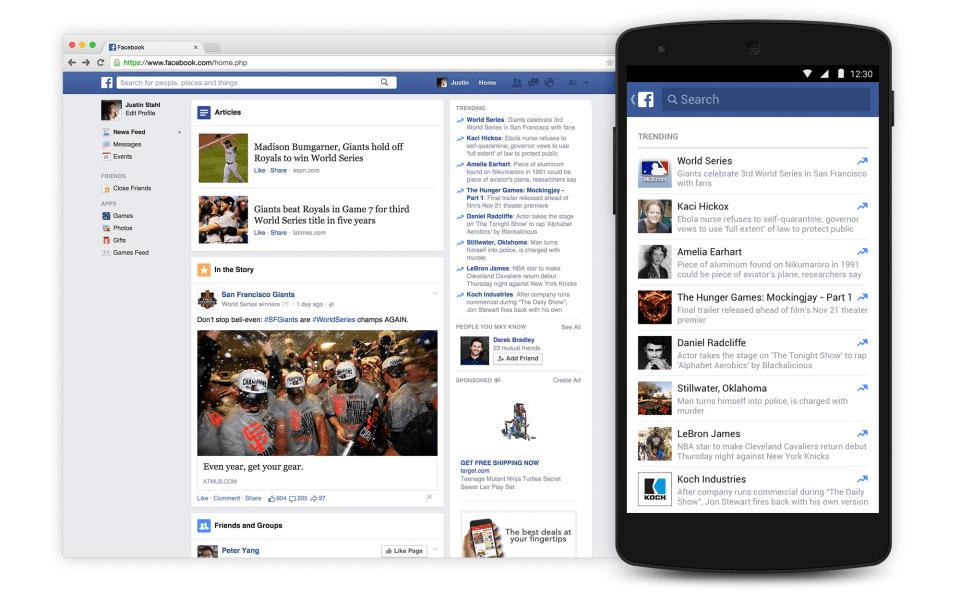 El algoritmo de noticias de Facebook resultó liberal, no neutral