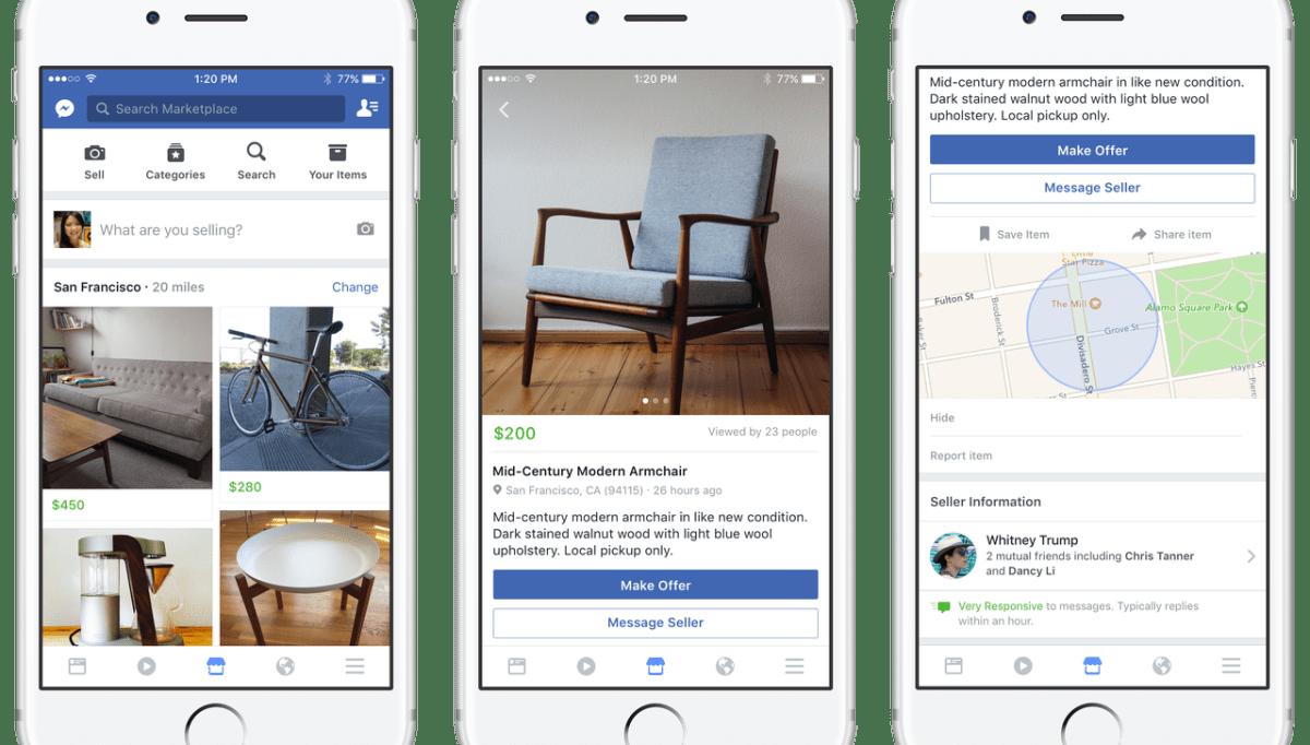 Facebook Marketplace y de golpe el social-commerce es una realidad