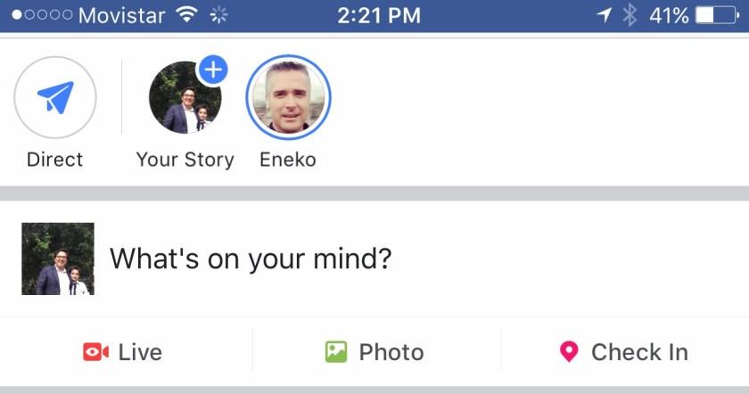 Facebook Stories y su ... éxito rotundo