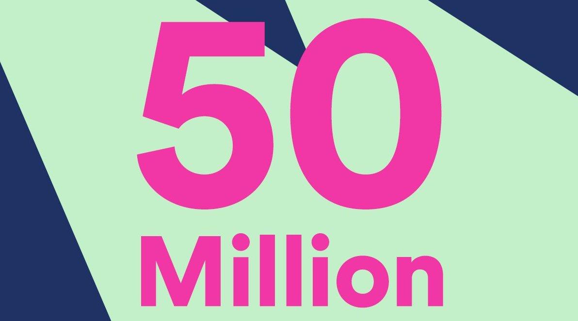 Spotify llega a los 50 millones de usuarios pagos