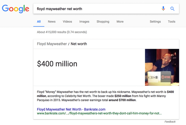 fortuna de mayweather
