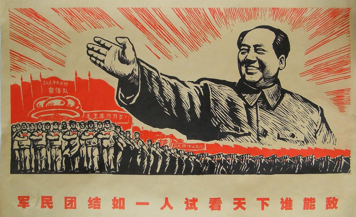 mao poder de china