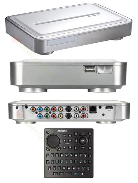 Archos TV+, Wireless DVR, Media HUB