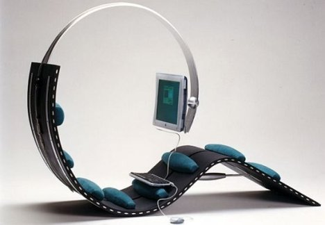 Surf Chair for the Lazy