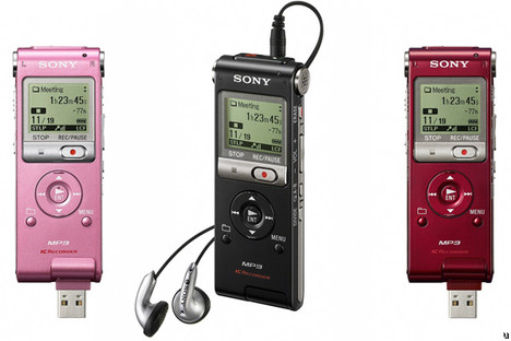 Sony UX voice recorders pass 1000 hour mark
