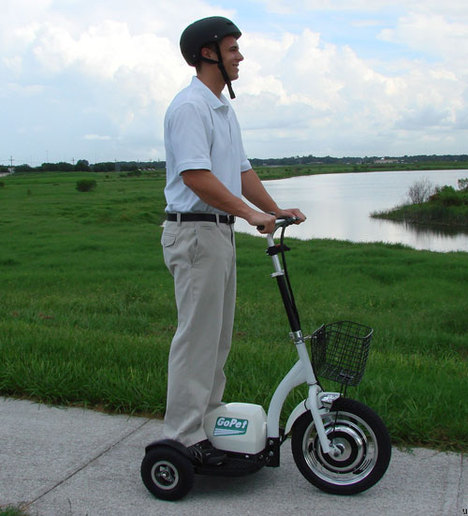 GoPet scooter lets you get up and about
