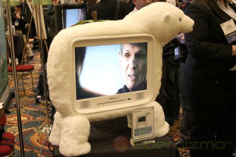 Hanspree Polar Bear and Apple HDTVs