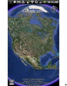Google Earth est disponible pour le Nexus One