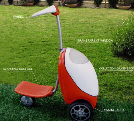 Lawn Mower Scooter Concept