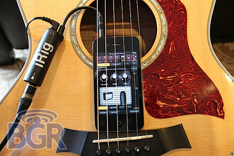 iRig aims at guitar players with an iDevice in tow