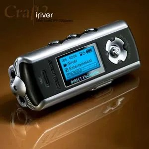 iRiver Music Manager for iFP-790 MP3 player | Schollii's ...