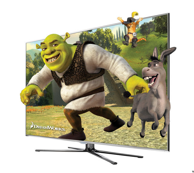 Samsung LED 8000 Series: 240Hz 3D LED TV With Touch