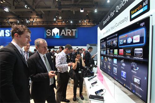Samsung's TV App Store hits 2 million downloads   Ubergizmo