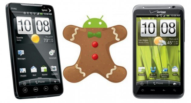 Gingerbread for EVO 4G and ThunderBolt