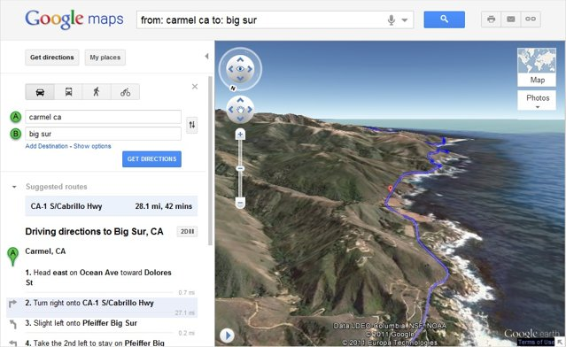 Google Maps now lets you preview your route in 3D | Ubergizmo