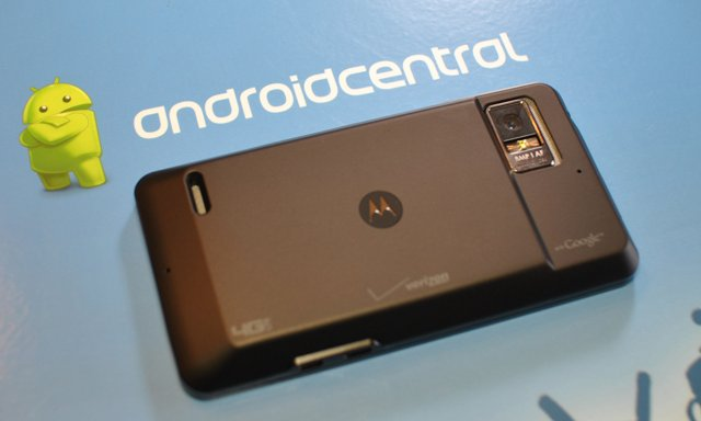 DROID Bionic extended battery