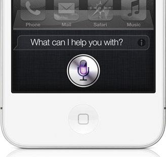 Siri screen