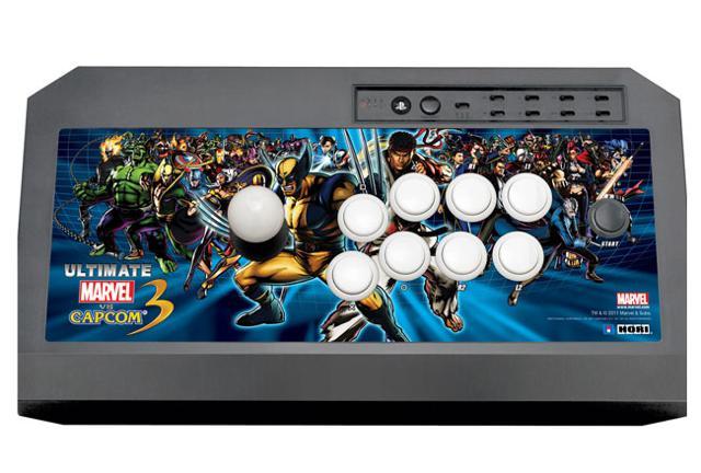 Hori Fight Stick for Ultimate Marvel vs Capcom 3 arrives in
