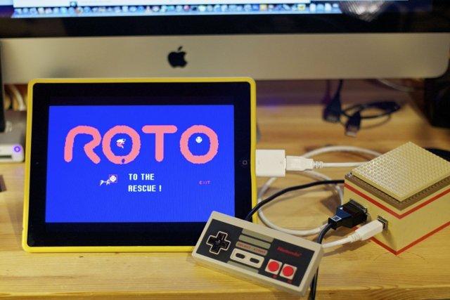 NES iPad