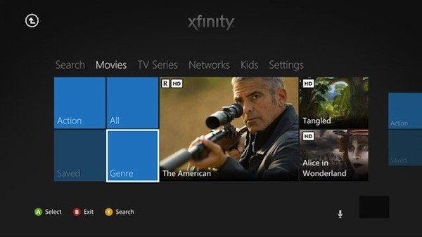 Xfinity app